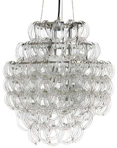 Crystal Glass Giogali style Chandelier
