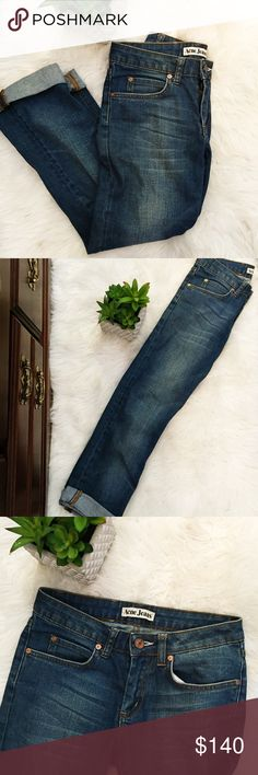 """✨Acne Studio Jeans✨ 🔸Condition: Great  🔸Clothing type: cropped style jeans  🔸Brand: ACNE Studio  🔸Size: TTS 25/34 🔸Measurements:  ▫️12.6"""" waist ▫️33"""" length ▫️22.5"""" inseam 🔸Material and Color:  ▫️98% cotton, 2% elastane.  ▫️blue denim  🔸Wash info:  ▫️wash 30C ▫️do not bleach ▫️medium iron ▫️dry clean ▫️do not tumble dry ▫️wash/dry separately ▫️wash inside out ▫️dry immediately after washing 🔸Final sale: ask ?s before buy - no returns Acne Jeans Ankle & Cropped"""