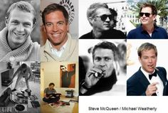 Steve McQueen / Michael Weatherly