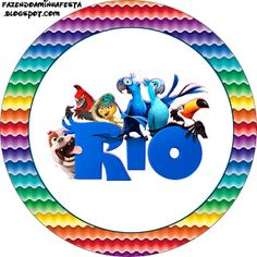 Making My Party!: Rio - Complete Kit with frames for invitations, labels for goodies, souvenirs and pictures!
