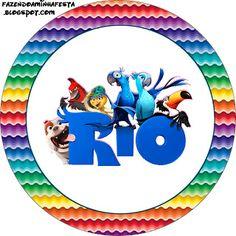 Rio: etiquetas para imprimir gratis.