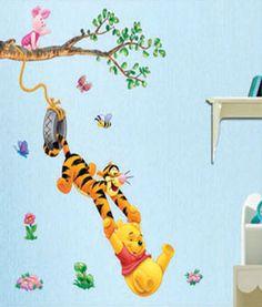 Elegant Winnie The Pooh Wall Sticker Vinyl Decal Decor Removable Nursery Kids Art Baby