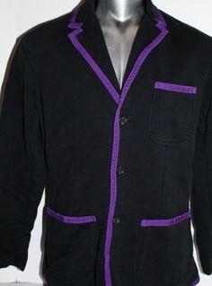 Van Heusen Studio Slim-Fit Velvet Purple Blazer - Men | Blazers
