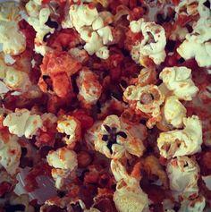 Siracha Popcorn!