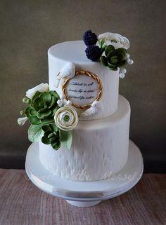 Komunijny Engagement Cake
