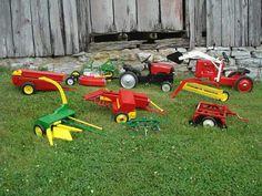 Custom Pedal Tractor Equipment