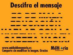 Descifra el mensaje...