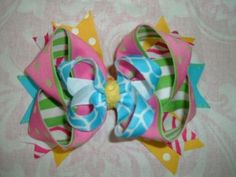 How to Make a Bow out of Ribbon: FREE Bow Making Lesson | Learn How to Make Hair Bows!