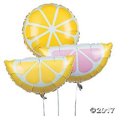 Everyone adores lemonade! Now you can add a sweet touch to your party decorations with these lemonade-inspired mylar balloons. These party balloons are the ...