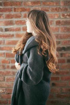 Three reasons to love fall: warm scarves, pumpkin lattes and tortoiseshell hair! Hair colored at Ulta Beauty.