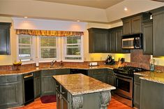 Kitchen Remodel With Dark Cabinets - http://www.kittencarcare.info/kitchen-remodel-with-dark-cabinets/