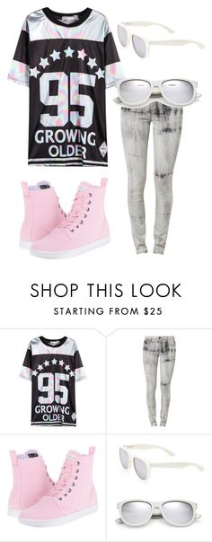 """""""Untitled #3"""" by artbydani ❤ liked on Polyvore featuring Dr. Martens and Yves Saint Laurent"""