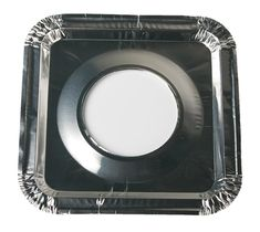 45 PC Aluminum Foil Square Gas Burner Bibs Range Protectors Disposable Liner Covers Stove Guard Easy Clean - Silver (8.5' Square) from Spare *** Read more reviews of the product by visiting the link on the image.