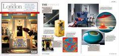 The London magazine - UK -|November 2016 | #bocadolobo #publications #luxuryfurniture #magazine