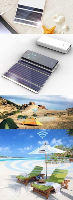 Portable solar Wifi signal transmitter