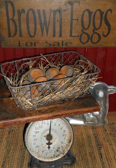 Grungy Farm Egg Tutorial
