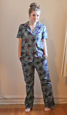 CAROLYN PAJAMAS IN OCTOPUS