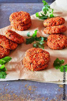 Kulinarna Maniusia - blog kulinarny: Kotlety z kaszy kuskus