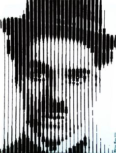 Je_suis_Charlie_(Chaplin_tribute) acrilico su tavola 30x40cm Carmine Ciocca 2014 - IN VENDITA