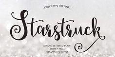Download for free Starstruck Font