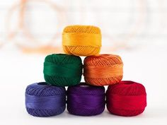 Silky, smooth and available in an array of tempting color stories, Presencia Pearl Cotton Thread is the perfect way to embellish your projects! Each 100% Egyptian cotton spool is mercerized for str...