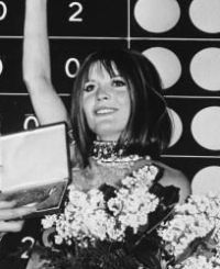Sandie Shaw, United Kingdom, winner of the Eurovision Song Contest 1967 in Vienna