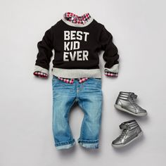 There's only one place to get the best quality and cutest collection of toddler boys clothing at affordable prices, The Children's Place. Toddler Boy Fashion, Toddler Boy Outfits, Toddler Boys, Kids Outfits, Kids Fashion, Fashion Clothes, Toddler Chores, Dress Clothes, Fashion Dolls