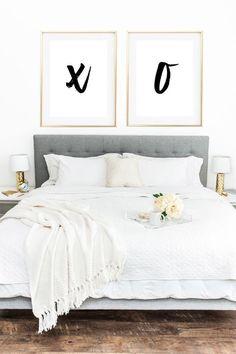 XOXO Wall Decor, XOXO Wall Art, Girly Wall Decor, Bedroom Wall Decor, Bedroom Wall Art, XOXO Print, Printable Art, Printable Women Gift by MyPrettyPrint on Etsy https://www.etsy.com/listing/460486034/xoxo-wall-decor-xoxo-wall-art-girly-wall