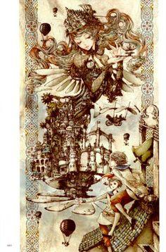 Nao Tsukiji Illustration : Nostalgia