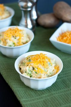 These potatoes are so divinely delicious and full of cheesy goodness that they could easily be counted as dinners main course and no longer the plain old s