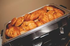 Party food idea - Breakfast - Croissants