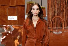 Couleur automne-hiver 2016-2017 : PANTONE Potter's Clay 18-1340 >> http://www.taaora.fr/blog/post/couleurs-tendance-automne-hiver-2016-2017-pantone-fashion-color-report #pantone #fw17