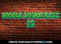 Nicole mhakuletz          12