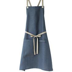 Linen Kitchen Apron