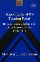 Democracies at the turning point [Recurso electrónico]