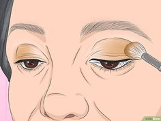 How to Apply Eye Makeup (for Women Over Once you reach the age of your skincare needs change. Mature skin tends to be dry, and fine lines and wrinkles may make it seem difficult to apply flawless makeup, especially around the. Neutral Eye Makeup, Bright Eye Makeup, Dark Eye Makeup, Eyebrow Makeup Tips, Dark Eyeshadow, Applying Eye Makeup, Best Eyeshadow, How To Apply Eyeshadow, How To Apply Makeup