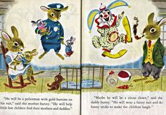 Vintage Books for the Very Young: Richard Scarry- I am a Bunny and The Bunny Book
