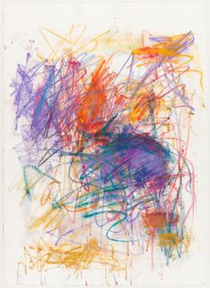 Untitled by Joan Mitchell, Pastel on paper, 1991