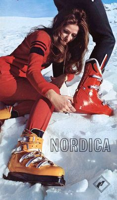 Nordica Winter 1972-73  (What IS she doing?)