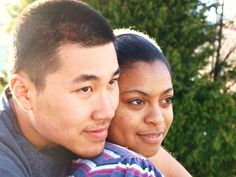 Asian men Black women Couples. Yes they exist, and they are becoming more common.