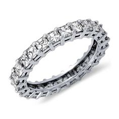 8602cb7aadc Asscher Cut Diamond Eternity Ring in Platinum (2 ct. tw.)