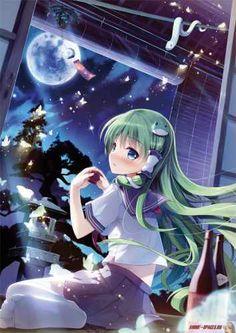 аниме девушка - Арты - Картинки пользователей - Фотоальбомы - ANIME-SPACES