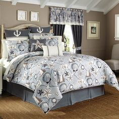 Croscill Yachtsman Comforter Set - 20% Off & Shipping - The Home Decorating Company