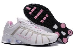 Womens Nike Shox NZ White Grey Pink Shoes,The price of the shoes only need $40.99.White with pink is a favorite of many girls, give a person pure and fresh sense.