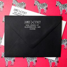 Wedding Return Address Stamp  Great for Invitations  by Studio255, $25.00
