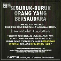Seburuk buruknya saudara Muslim Words, Islam Muslim, Muslim Quotes, Rude Quotes, Jokes Quotes, Motivational Quotes, Reminder Quotes, Self Reminder, Islamic Inspirational Quotes