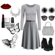 Colour combination: Black & Grey