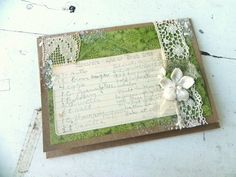 Vintage Recipe w/ Old Trims