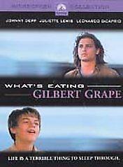 What's Eating Gilbert Grape (DVD, 2001, Johnny Depp, Leonardo DiCaprio