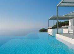 NA XEMENA HOUSE by Ramon Esteve. Minimalist modern house with amazing panoramic sea views.